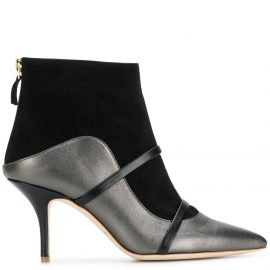 Malone Souliers Madison two-tone booties - Grey