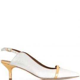 Malone Souliers Marion 70mm pumps - Silver