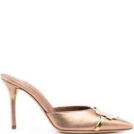 Malone Souliers Missy leather mules - Gold