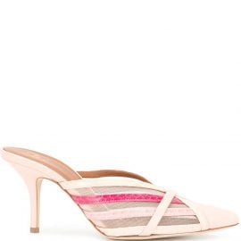 Malone Souliers Piper strappy mules - PINK