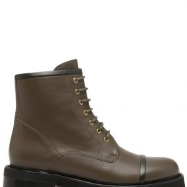 Malone Souliers ankle-length combat boots - Green