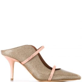 Malone Souliers backless pumps - GOLD