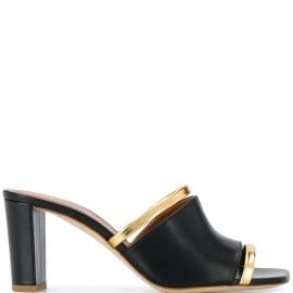 Malone Souliers cut-out band sandals - Black