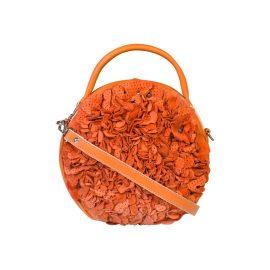 Manley - Luna Cross Body Embellished Leather Bag Mango