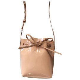 Mansur Gavriel Bucket Bag patent leather crossbody bag