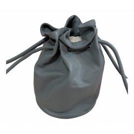Mansur Gavriel Bucket leather bowling bag