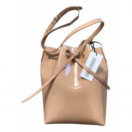 Mansur Gavriel Bucket patent leather bag