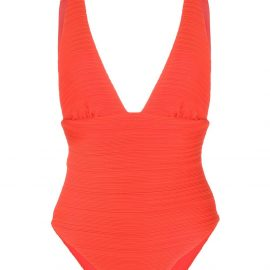 Mara Hoffman Daphne swimsuit - ORANGE