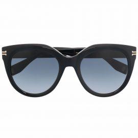 Marc Jacobs Eyewear Icon round tinted sunglasses - Black