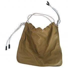 Marni Bucket leather bag