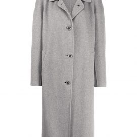 Marni button-front coat - Grey