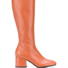 Marni knee-high boots - Brown