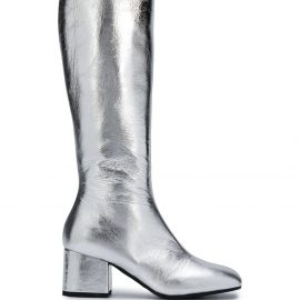 Marni knee-high boots - SILVER