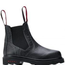 Marni leather Chelsea boots - Black