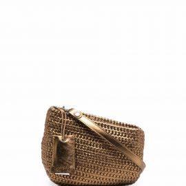 Marsèll Fantasmino metallic clutch bag - Brown