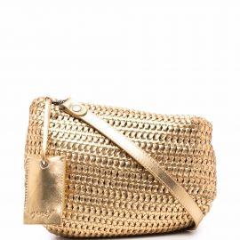 Marsèll Fantasmino metallic clutch bag - Gold