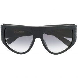 Max Mara D-frame oversized sunglasses - Black