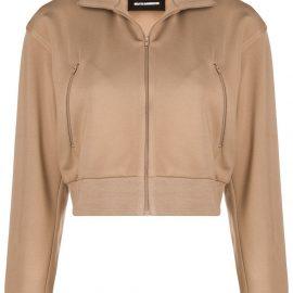 Melitta Baumeister zip front sweater - Brown