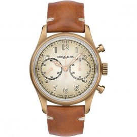 Mens Montblanc 1858 Automatic Chronograph Watch