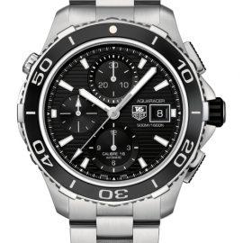 Mens TAG Heuer Aquaracer Calibre 16 Automatic Chronograph Watch CAK2110.BA0833