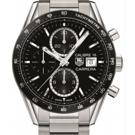 Mens TAG Heuer Carrera Calibre 16 Chronograph Watch CV201AJ.BA0727