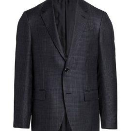 Mini Box Wool-Blend Sportcoat