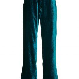 Mira Mikati velvet pyjama trousers - Blue