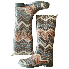 Missoni Wellington boots
