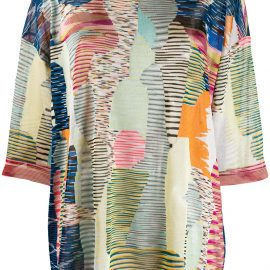 Missoni patterned blouse - Blue