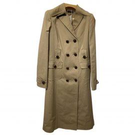 Miu Miu N Beige Cotton Trench Coat for Women