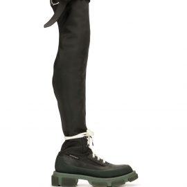 Monse Gao thigh-high boots - Black