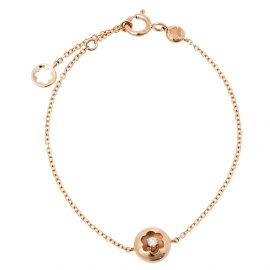 Montblanc Signet Diamond 18K Rose Gold Bracelet