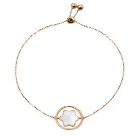 Montblanc Star Signet Mother of Pearl 18K Rose Gold Bracelet