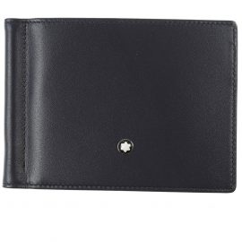Montblanc Wallet for Men On Sale, navy, Leather, 2021