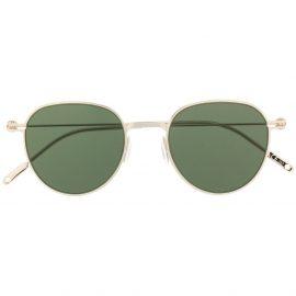 Montblanc round frame sunglasses - Gold
