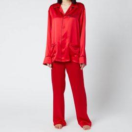 More Joy Women's Special Pyjamas - Red