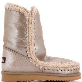 Mou Eskimo 24 ankle boots - Metallic