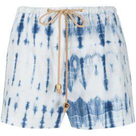 Nanushka Febe pyjama-style shorts - Blue