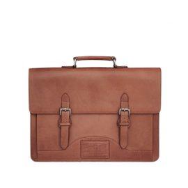 Nappa Dori - Norman Laptop Bag Tan Leather