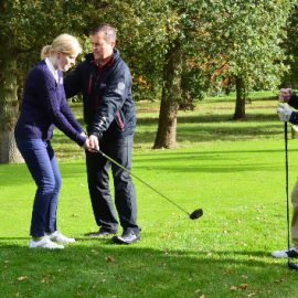 Nine Hole Playing Lesson for Two with £5 off voucher Each