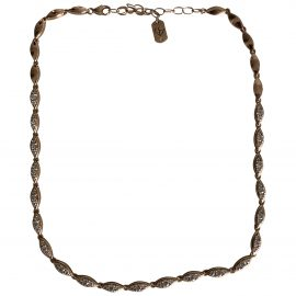 Non Signé / Unsigned N Pink Pink gold Necklace for Women