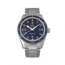 OMEGA 2019 pre-owned Seamaster 300 Master Co-Axial 41mm - Blue