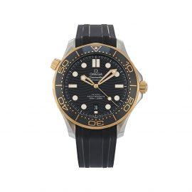 OMEGA 2020 unworn Seamaster Diver 300M Co-Axial Master Chronometer 41mm - Black