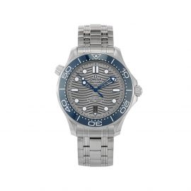OMEGA 2021 unworn Seamaster Diver 300M Co-Axial Chronometer 42mm - Grey