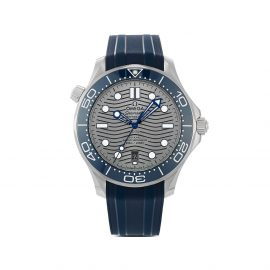OMEGA 2021 unworn Seamaster Diver 300M Co-Axial Master Chronometer 42mm - Grey