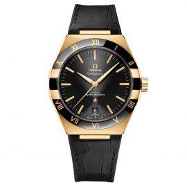 OMEGA Constellation 18ct Gold Co-Axial Master Chronometer Men's Watch