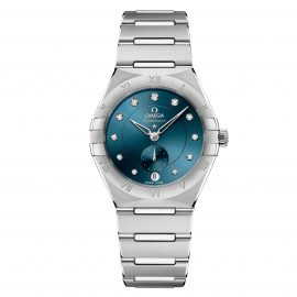 OMEGA Constellation Diamond Automatic Ladies Watch