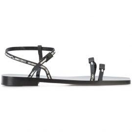 Off-White C/O Jimmy Choo Black Jane sandals