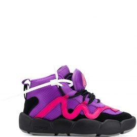 Off-White Chlorine boot sneakers - Purple