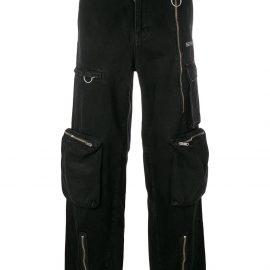 Off-White cargo jeans - Black